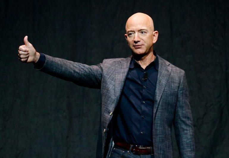 Jeff Bezos Gets $6.4 Billion Richer As Amazon Stock Hits A New Record High