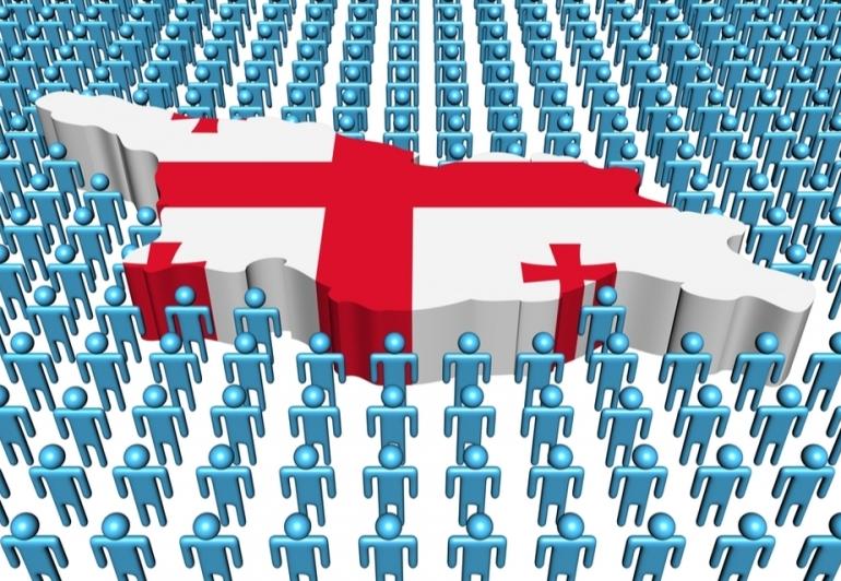 Количество самозанятых граждан в Грузии и в мире