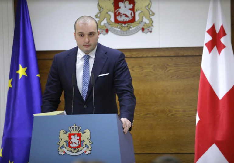 Mamuka Bakhtadze was named as the candidate for Prime Minister's position