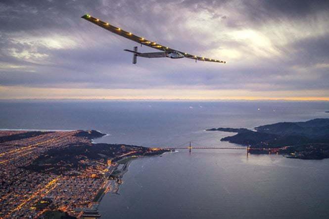 ექსპერიმენტული თვითმფრინავი Solar Impulse 2 რეკორდებს ამყარებს