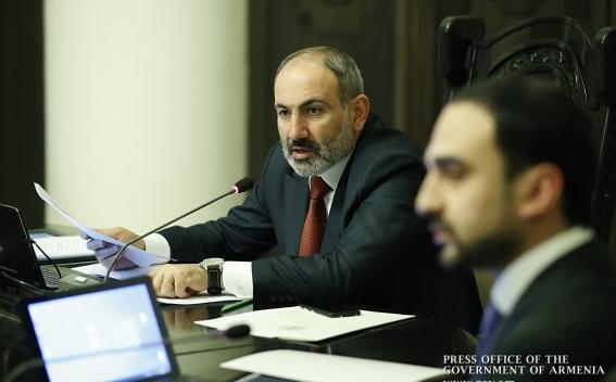 Armenia PM on reopening of factories amid coronavirus