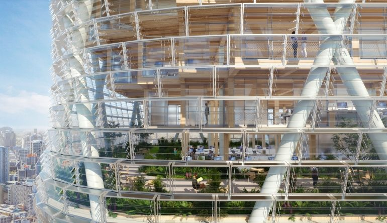 სიდნეიში ხის ცათამბჯენის აშენებას აპირებენ