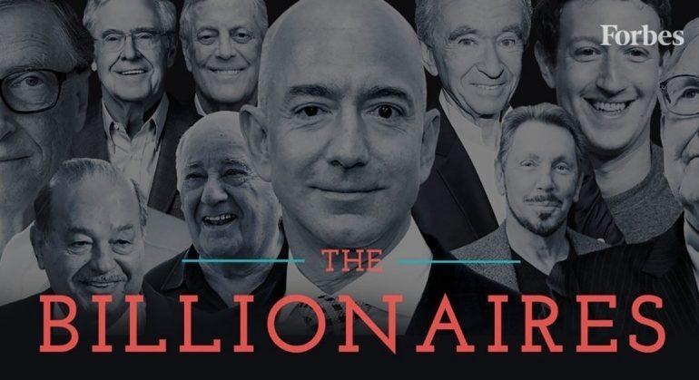 მსოფლიოს 10 ყველაზე მდიდარი ადამიანის ქონება ერთ დღეში $18 მილიარდით შემცირდა