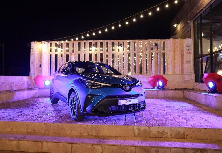 ტოიოტა ცენტრმა თეგეტამ მომხმარებლებს ახალი Toyota C-HR-ი წარუდგინა