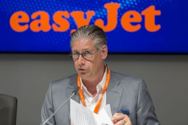 EasyJet boss says full planes are 100% safe as flights resume