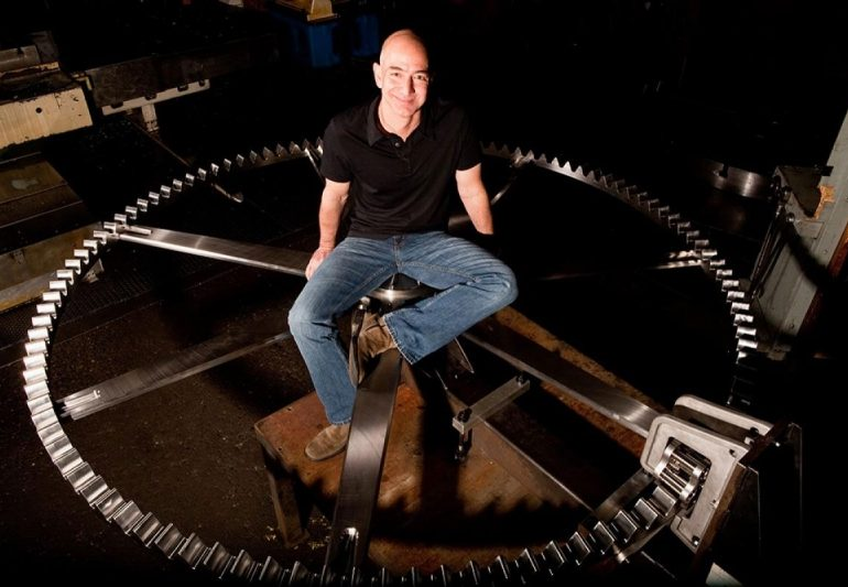 Jeff Bezos Is Building a 10,000-Year Clock Inside a Mountain