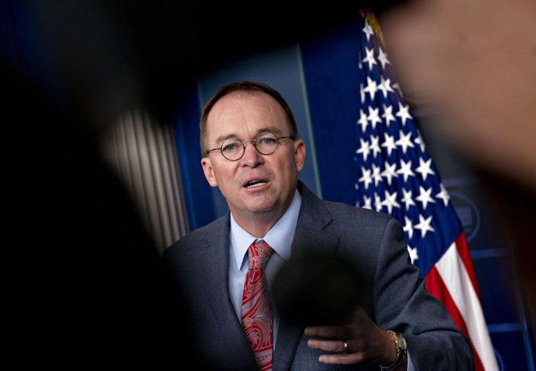 Ex-Trump Acting Chief of Staff Mulvaney Starting Hedge Fund