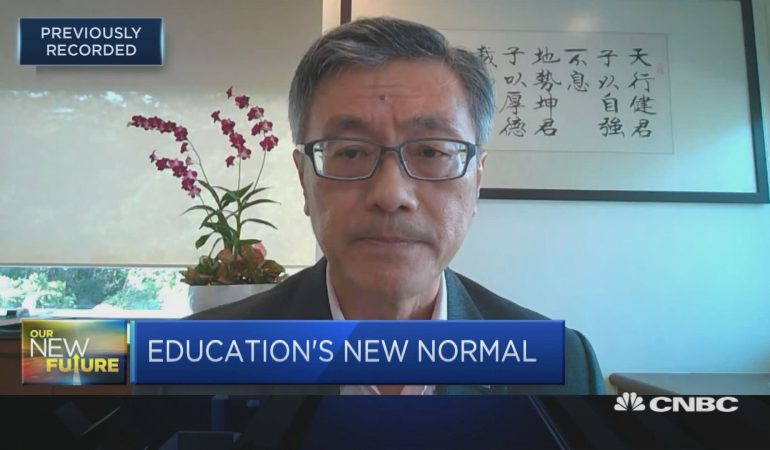 National University of Singapore president: I do not see a return to pre-Covid learning