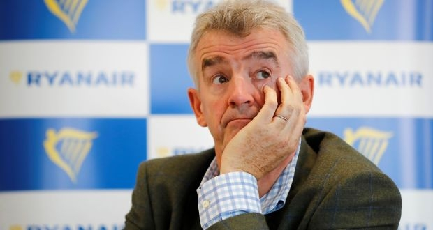 Ryanair CEO Michael O'Leary says UK quarantine plans 'idiotic and unimplementable'