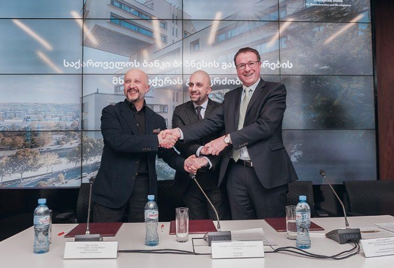 საქართველოს ბანკის ფინანსური მხარდაჭერით თბილისში ახალი სავაჭრო ცენტრი აშენდება
