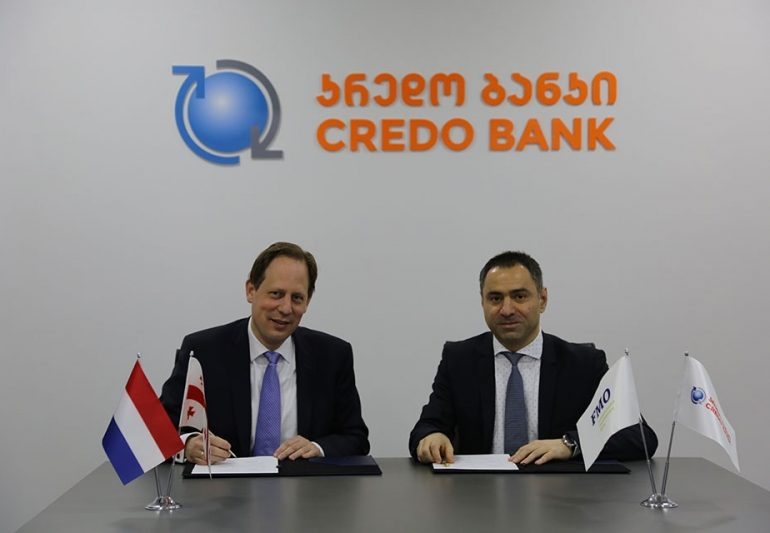 Credo Bank Signs Loan Agreement with FMO - the Netherlands Development Finance Company