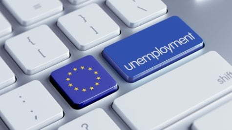 უმუშევრობის დონე ევროზონასა და ევროკავშირში