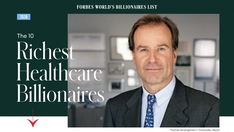 The 10 richest Healthcare Billionaires