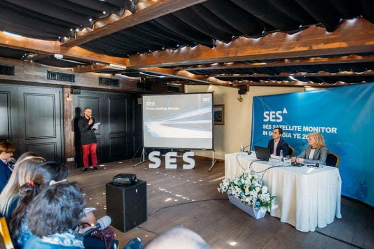 SES-ი ერთ წელიწადში 21%-ით ზრდის სატელიტური მაუწყებლობის წვდომას საქართველოში