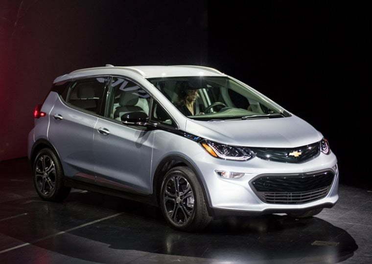 General Motors-მა ახალი ელექტრომობილი Chevrolet Bolt-ი წარმოადგინა
