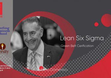 თბილისში Lean 6 Sigma ტრენერი, რენო დომენიკო ჩამოდის
