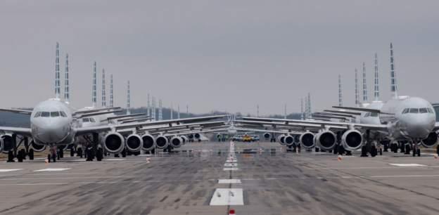 Airline industry suffers 'unprecedented shock'
