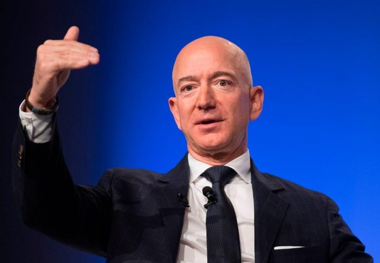 Jeff Bezos' Net Worth Hits All-Time High Of More Than $180 Billion