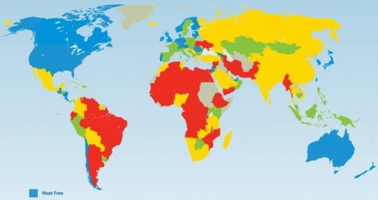 საქართველო ფრეიზერის ინსტიტუტის მსოფლიო ეკონომიკური თავისუფლების ინდექსში