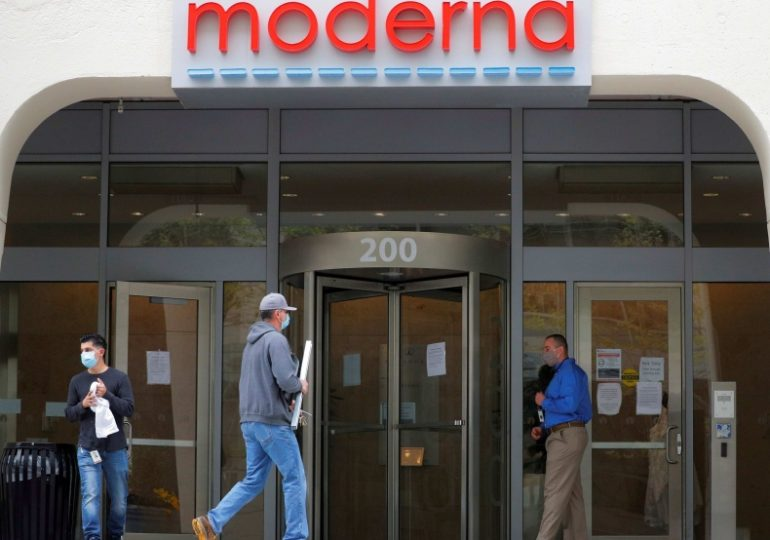 Moderna gets further $472 million U.S. award for coronavirus vaccine development