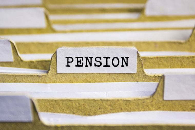 The amount of pension contributions in Georgia has reduced