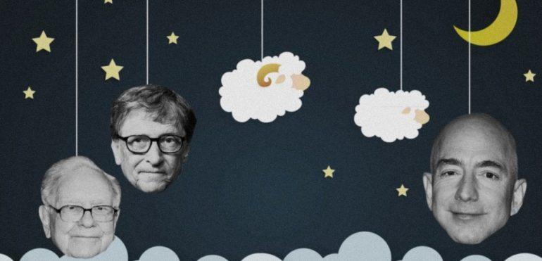 How Much Bill Gates, Jeff Bezos, and Warren Buffet Get Each Night