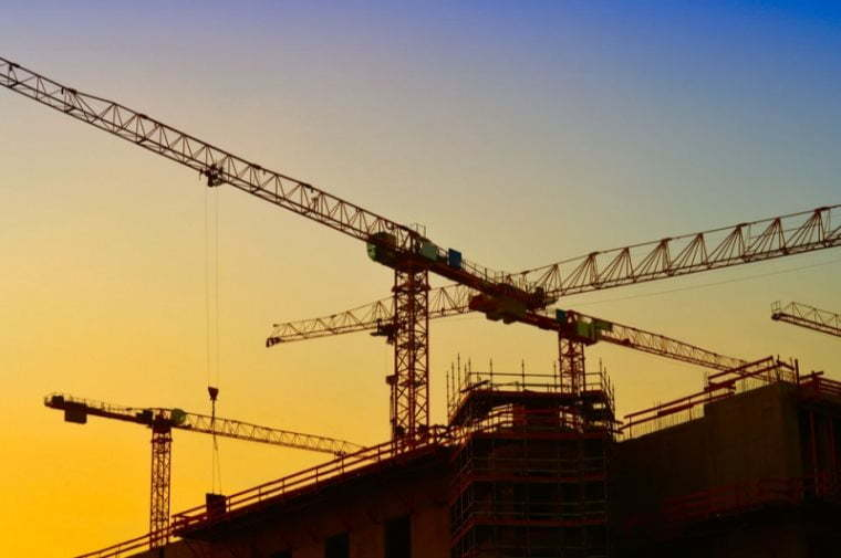 In the first quarter of 2017, the production value of the construction sector increased