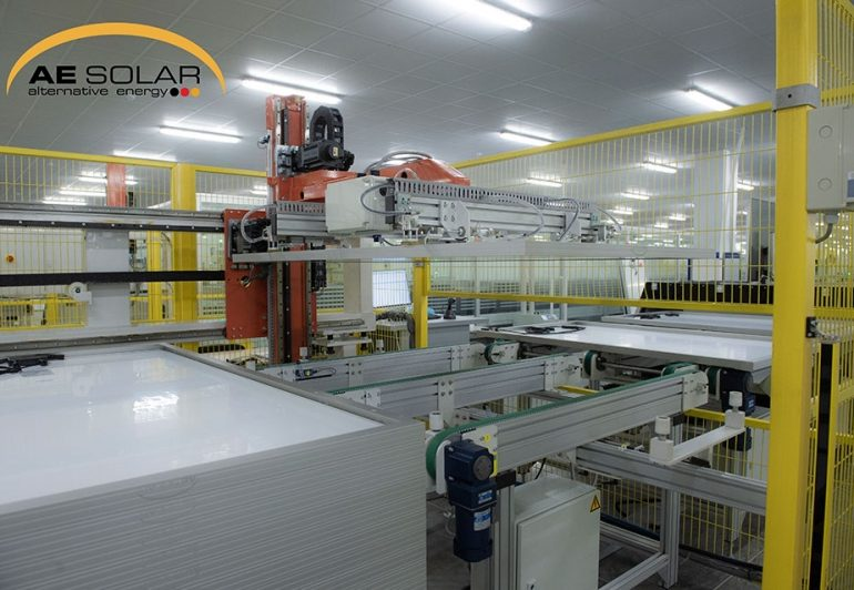 Largest factory in Europe manufacturing solar panels in Kutaisi
