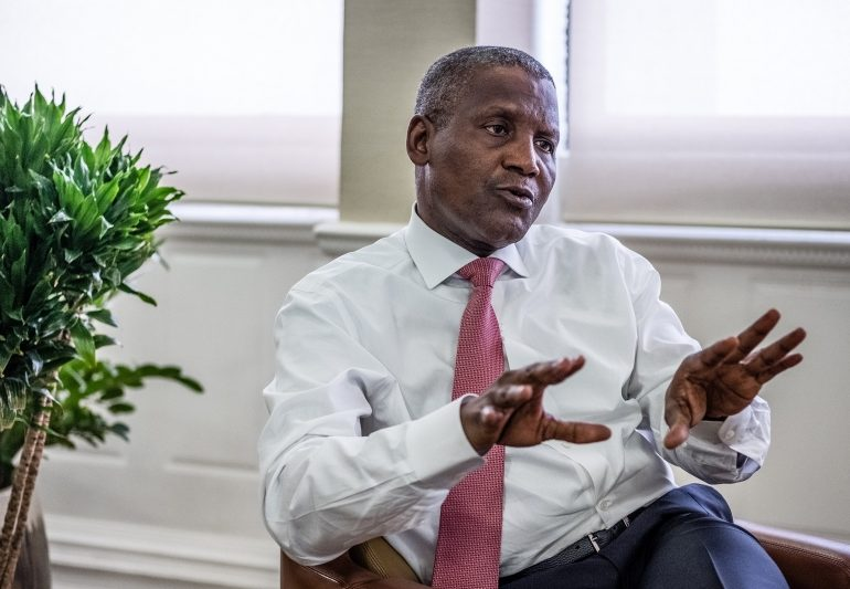 Africa's Richest Man Makes His Biggest Bet Yet – Bloomberg