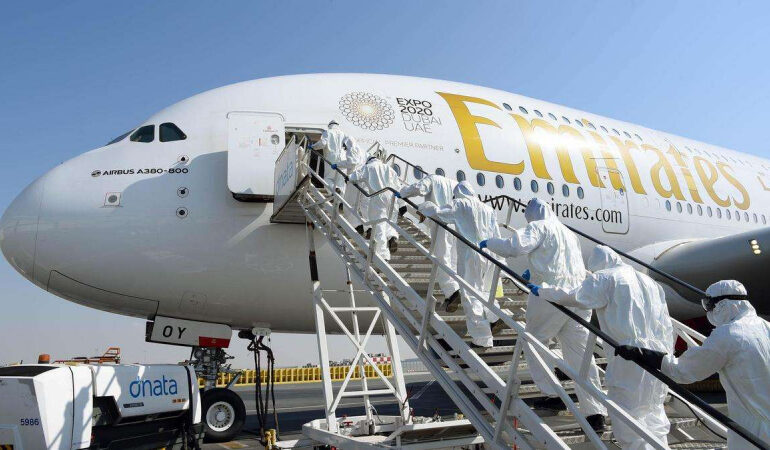 Emirates working with Pfizer, others on vaccine transport 'challenge'