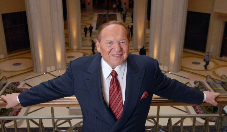 Casino mogul and political donor Sheldon Adelson dead at 87