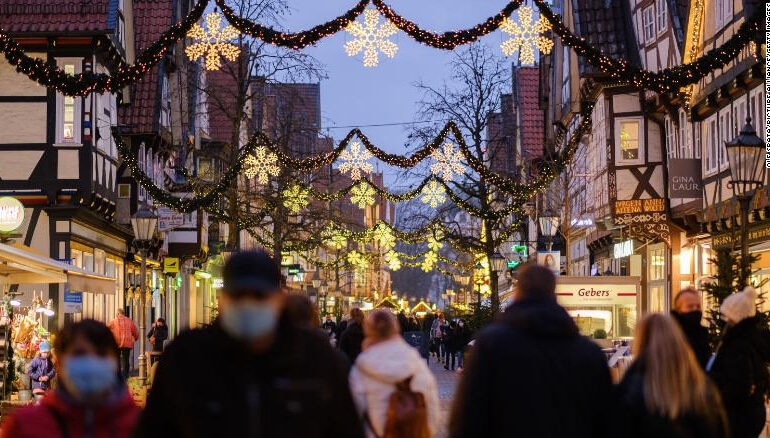 Germany to go into lockdown over Christmas