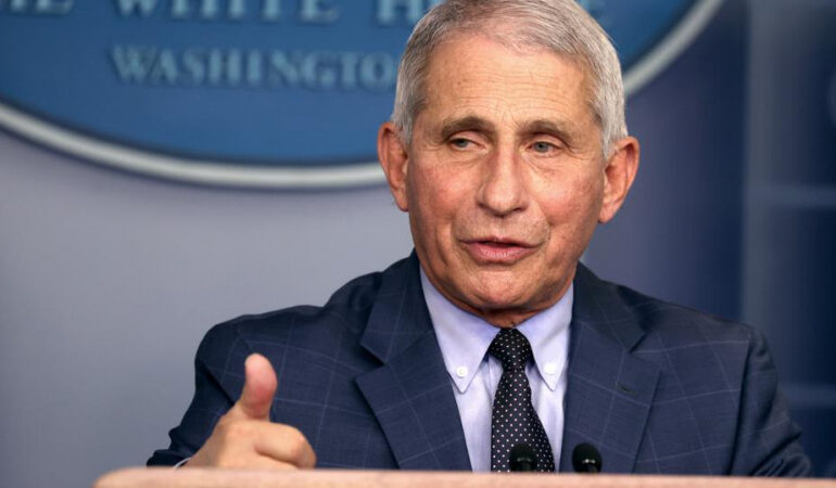 Fauci Willing To Get Coronavirus Vaccine On Camera, Like Obama, Bush And Clinton