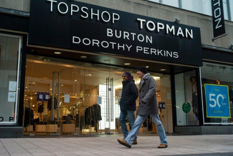 Topshop-ის და Topman-ის მმართველი კომპანია გაკოტრების შესახებ აცხადებს