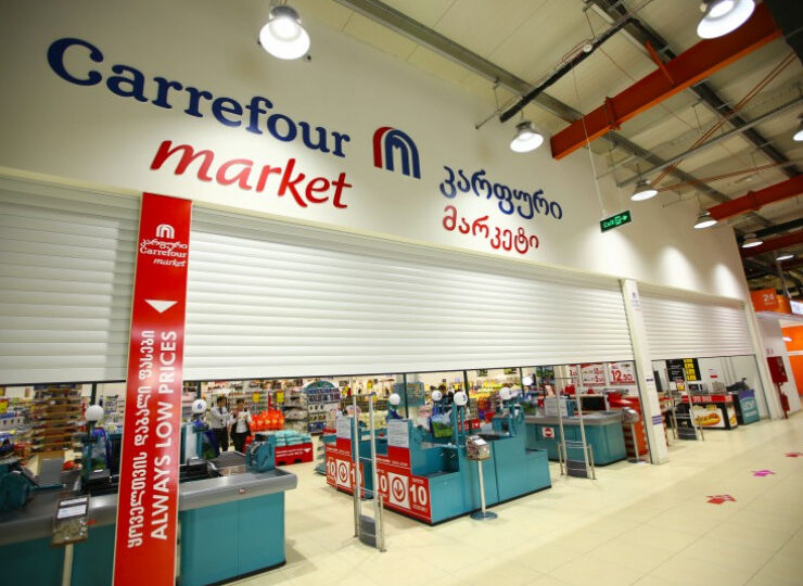How much revenue does CARREFOUR have in Georgia?