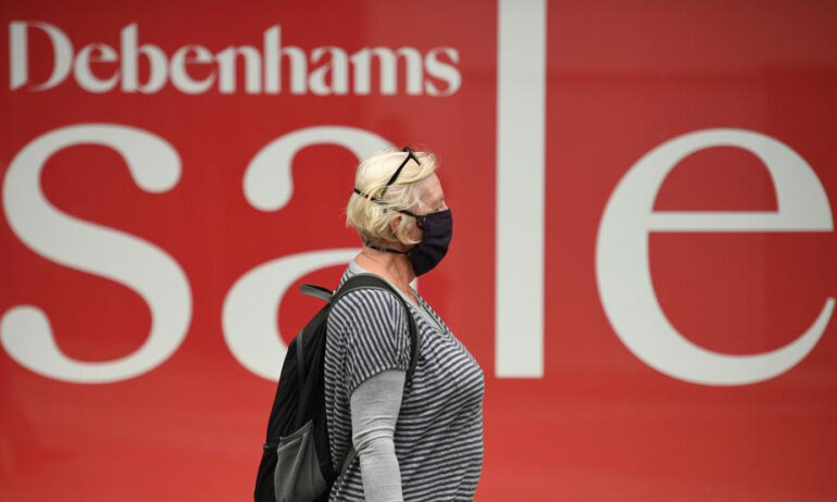 Fashion's Nightmare Before Christmas As Debenhams Joins U.K. Carnage
