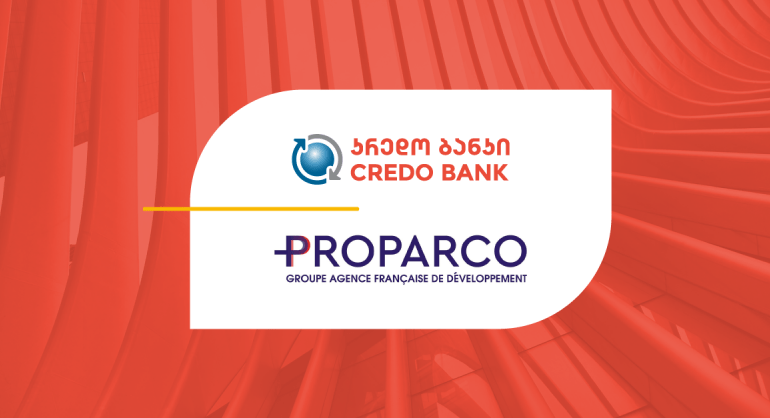 Credo Bank Attracted USD 5 Million Loan Facility from PROPARCO
