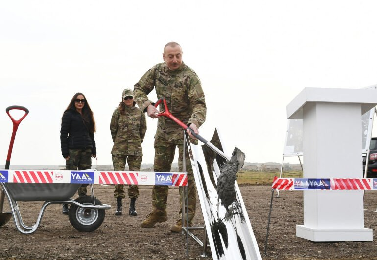 Azerbaijan starts construction of new airport in Karabakh