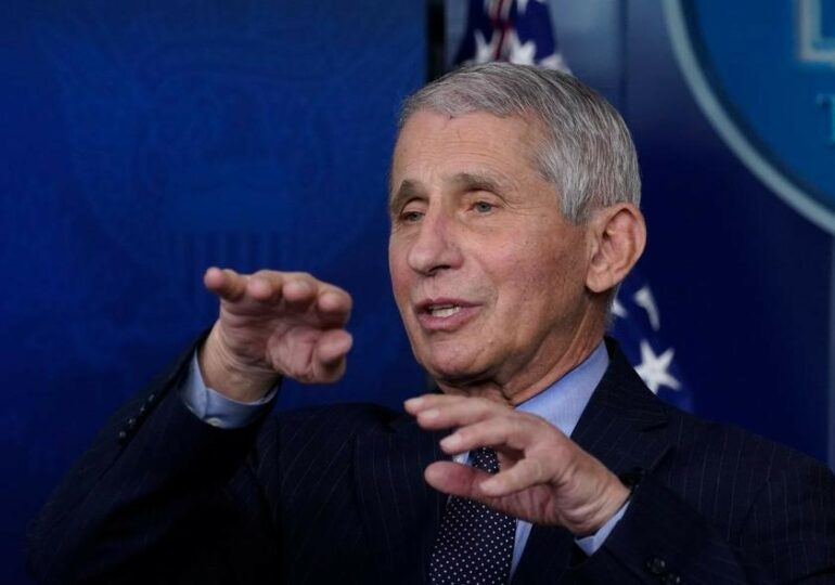 Fauci wins $1 million award for 'defending science'