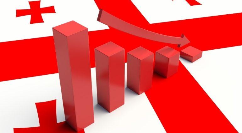 იანვარში საქართველოს ეკონომიკა 11.5 პროცენტით შემცირდა