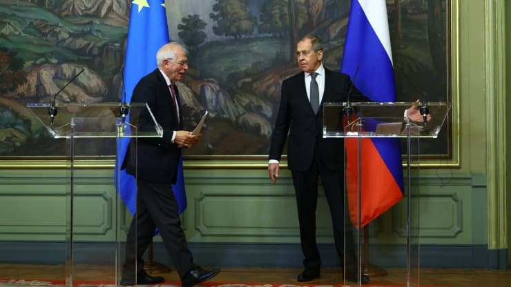 Russia says it's ready to end ties with the European Union