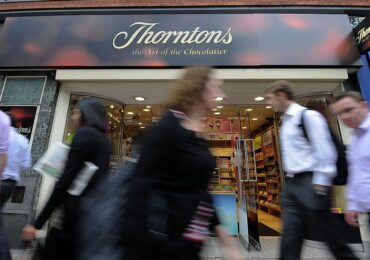 Thorntons: Chocolate maker to close all shops putting 600 jobs at risk