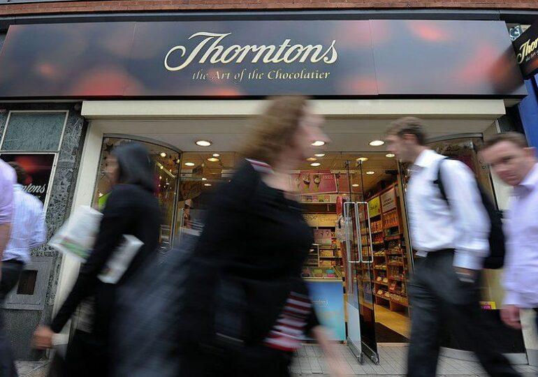 შოკოლადის ბრიტანული მწარმოებელი Thorntons-ი მაღაზიებს სამუდამოდ ხურავს