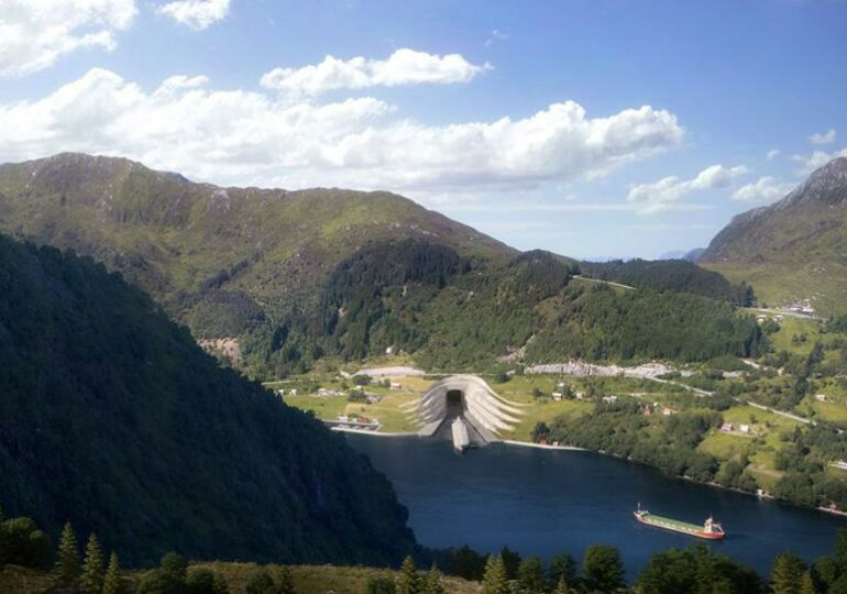 Norway's $325 Million Ship Tunnel Gets Go-Ahead