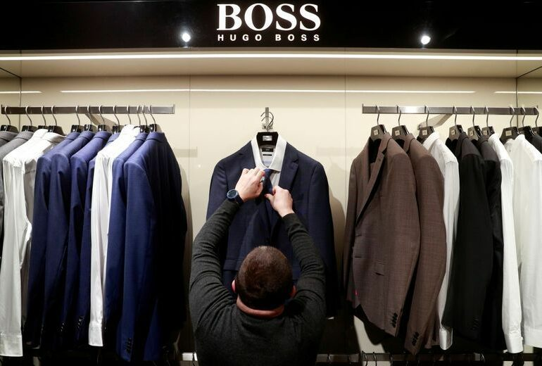 Hugo Boss expects gradual recovery from second quarter