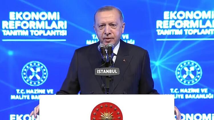 President Erdoğan unveils economic reform package