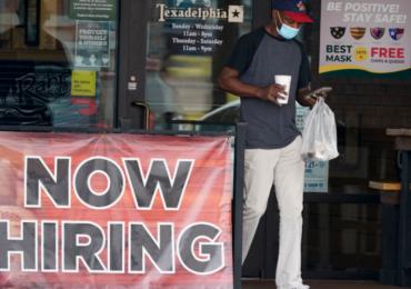 მარტის მონაცემებით,  აშშ-ში სამუშაო ადგილების რაოდენობა 916 000-ით გაიზარდა
