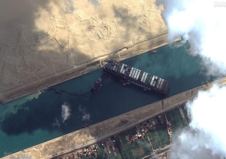 სუეცის არხში გემის გაჭედვით გამოწვეული კრიზისის გამო ეგვიპტე $900-მილიონიან კომპენსაციას ითხოვს