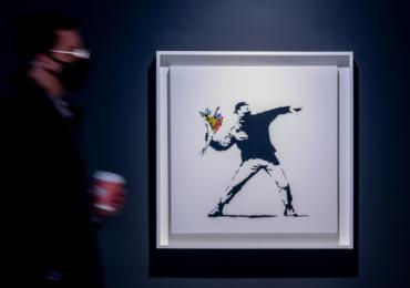 Sotheby's აუქციონზე ბენქსის ნამუშევარი კრიპტოვალუტაში გაიყიდა