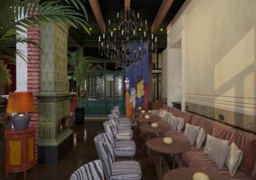 """ისტორიული შენობა თბილისში, სადაც ახალი სასტუმრო და რესტორანი """"ესკიზი"""" იხსნება"""